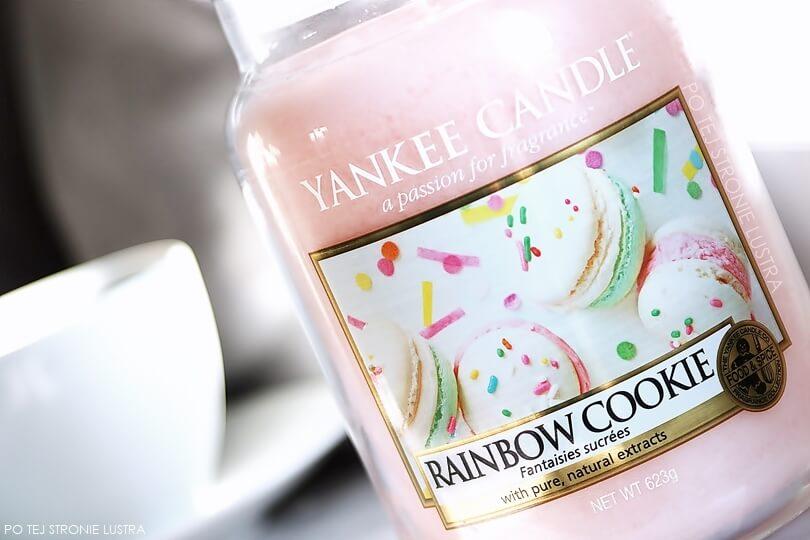 rainbow cookie yankee candle etykieta