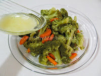 carrots, broccoli salad