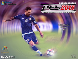 New Patch Copa America Centenario Update V.2 Pes 2013