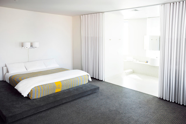 A downtown Los Angeles, California luxury boutique hotel located near the LA Convention Center, The Standard Downtown LA is Mid-Century California architecture par excellence.