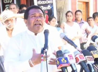 Minister S.B. Dissanayake says joining of the two major political parties for a longer period will not be favorable for democracy