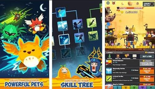 Free Download Tap Titans 2 MOD Apk v2.9.2 Terbaru (Unlimited Diamonds/Mana)