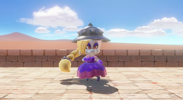 Super Mario Odyssey female Broodal wedding planner rabbits bunny Harriet Hairriet Hariet dress
