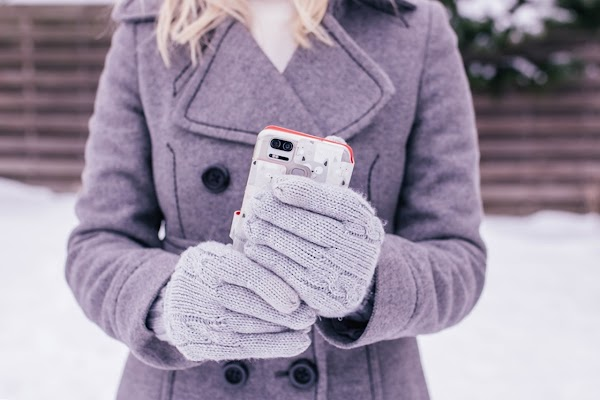 Rękawiczki dotykowe - jak zrobić? {rękawiczki do smatrfona DIY + kilka sklepowych propozycji}