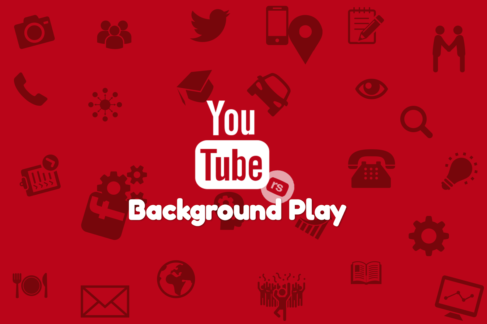 Youtube background play android