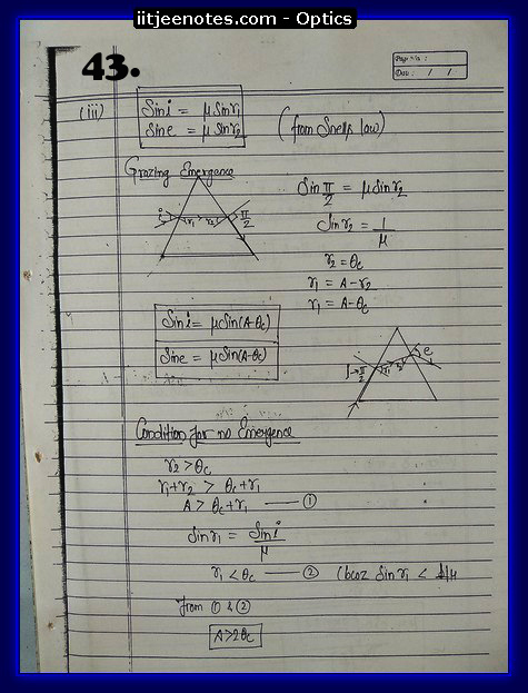 optics notes cbse3