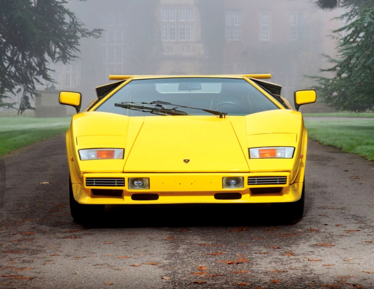 Lamborghini Countach Classic Car Photo Hd Wallpaper Mobile Wallpapers