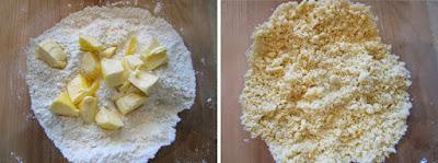 Tartaletas de naranja y frambuesa (Siempredulces) - Elaboración Paso 4