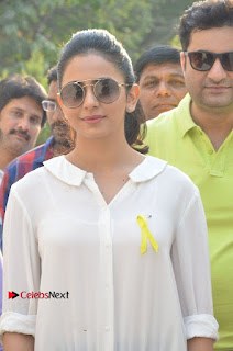 Actress Rakul Preet Singh at Endometriosis Awareness Walk at Apollo Cradle  0015.jpg