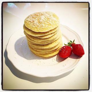 Pancakes Coco légers, une gourmandise qui ne fait pas de mal...