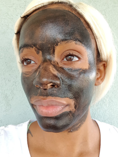 Peter Thomas Roth Irish Moor Mud Purifying Black Mask dried - www.modenmakeup.com