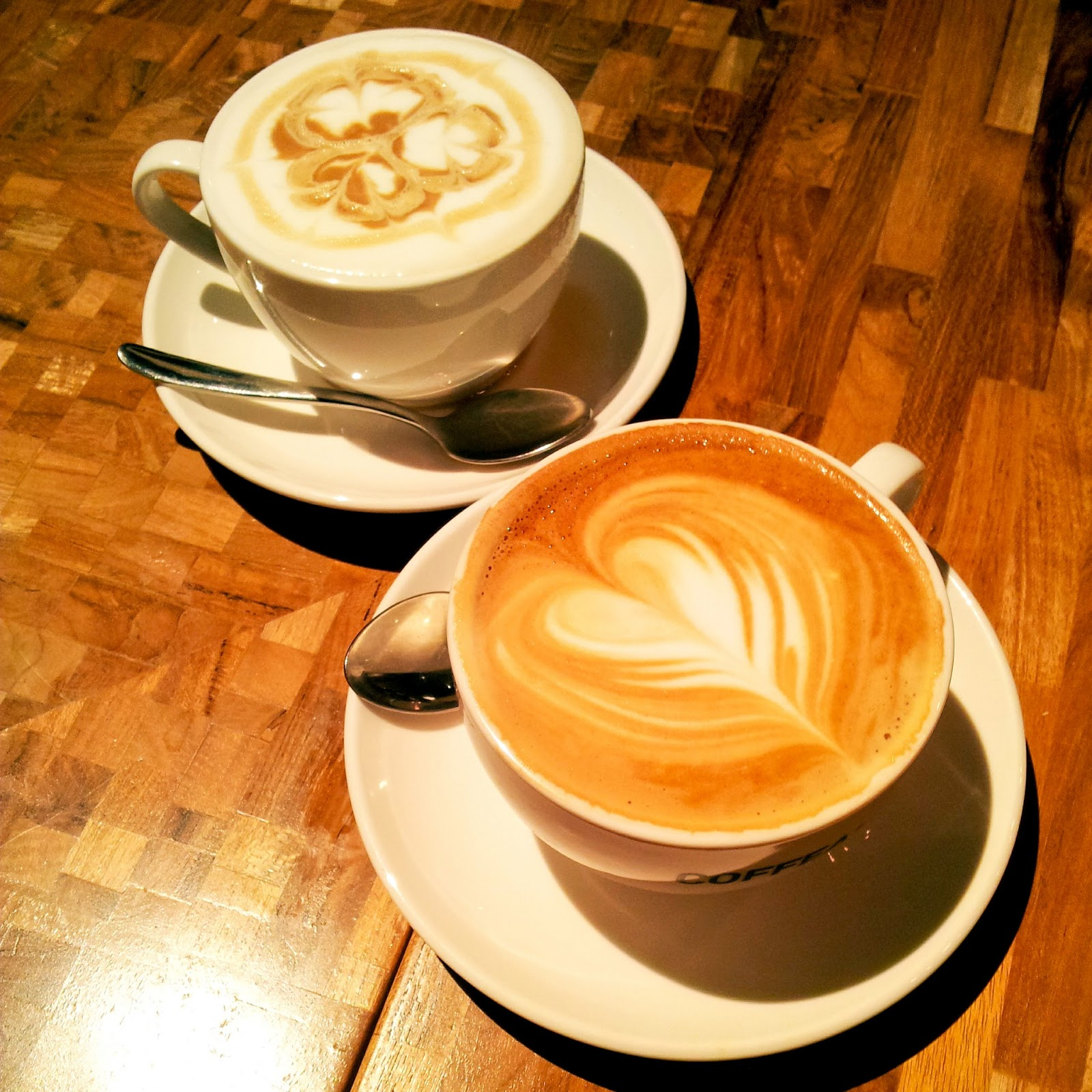 Lazy Blogger.: Found My Cup Of Latte