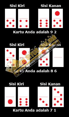 Cara menghitung kartu permainan domino online