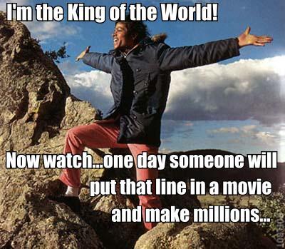 Michael Jackson King of the World Meme