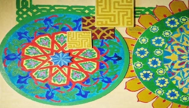 افتتاح معرض في الفن الإسلامي لطالبات تربية نوعية ميت غمر