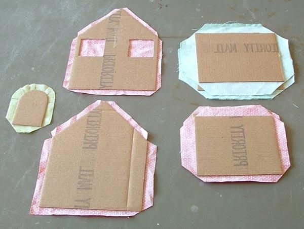 kartondan maket ev yapımı malzemeleri