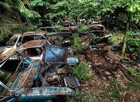самое большое кладбище автомобилей