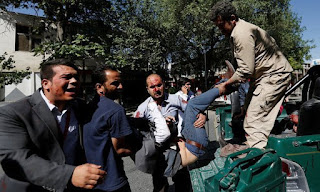 Atmost 9 Dead, 80 Others Injured In Kabul Car Bomb Attack