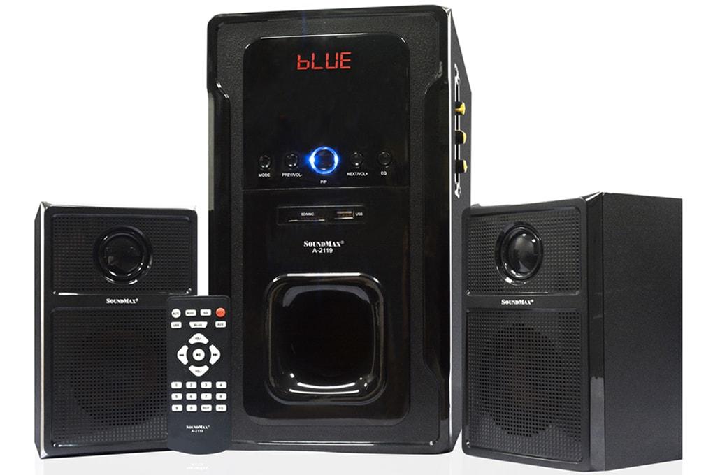 Đánh giá loa vi tính SoundMax A-2119: đa năng, ít kén nhạc