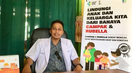 Sebanyak 3.700 Anak di 8 Pulau se- Takabonerate, Akan di Imunisasi Campak dan Rubella