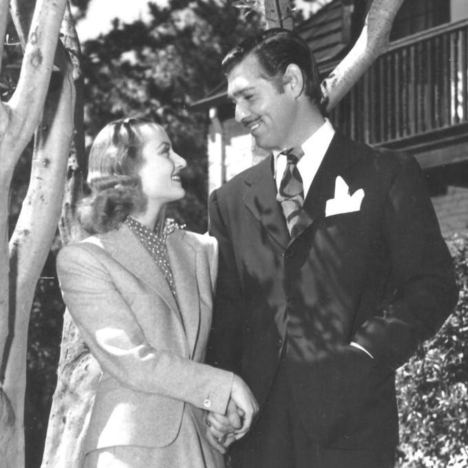 Carole Lombard e Clark Gable