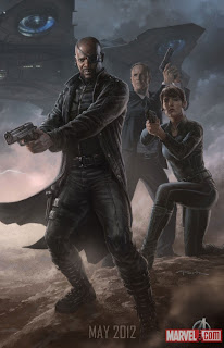 Nick Fury and the Shield - The Avengers