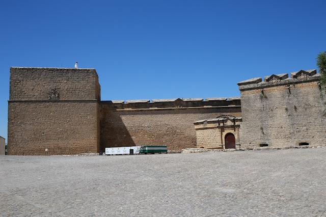 Castillo de Sabiote en Jaén, Andalucía (España)