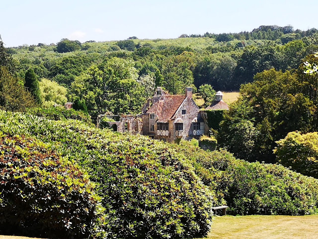 View of old Scotney Castle