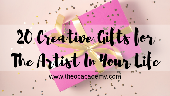 20 Creative Gifts for The Artist In Your Life