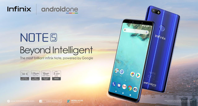 "Photos: A Device ""Beyond Intelligent"" : Infinix Unveils Note 5 Powered By Android One"