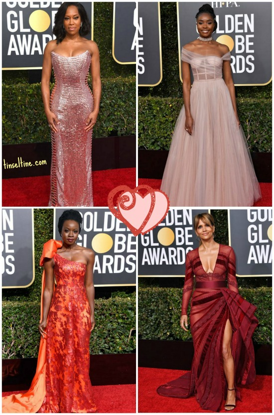 76th Golden Globes Regina King, Kiki Layne, Danai Gurira, Halle Berry