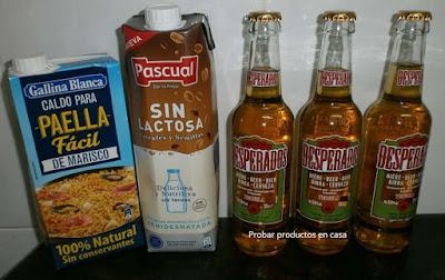 Disfrutabox: desperados, Gallina Blanca y Pascual sin lactosa