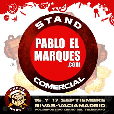 Stand comercial PabloElMarques.com