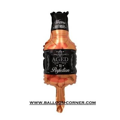 Balon Foil Botol Whishkey / Botol Wiski Mini