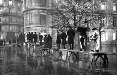 Las inundaciones de París de 1910
