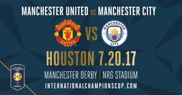Prediksi Manchester United vs Manchester City 20 Juli - ICC 2017 Amerika Serikat