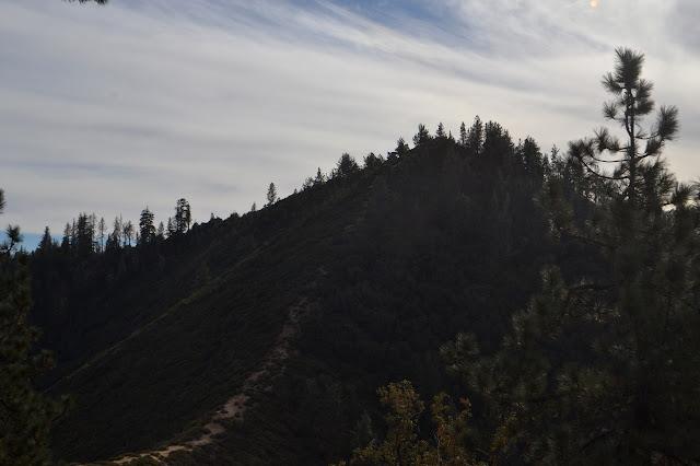 Figueroa Mountain ridge line