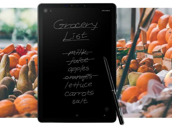 Samsung Galaxy Tab S4 With Super AMOLED Display, S Pen Support Launched in India