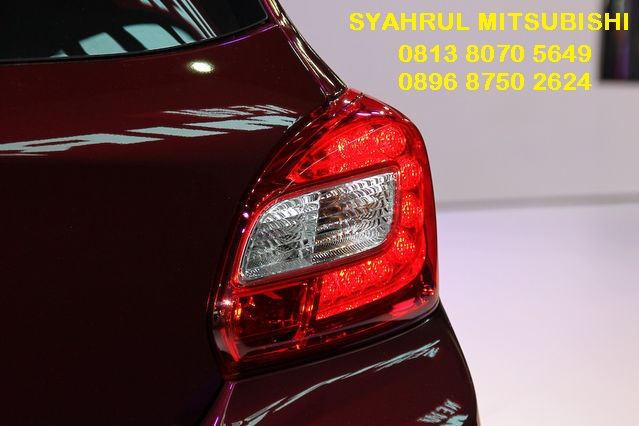 Lampu belakang mitsubishi mirage facelift 2016