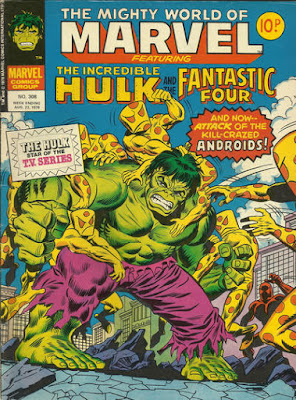 Mighty World of Marvel #308, the Leader's humanoids