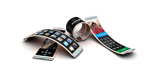 holoflex un smarphone con pantalla flexible y reproduce hologramas