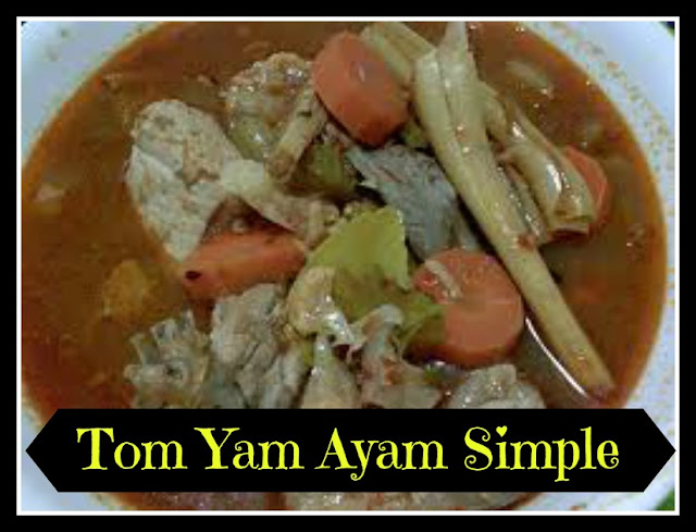 Tomyam Ayam Simple