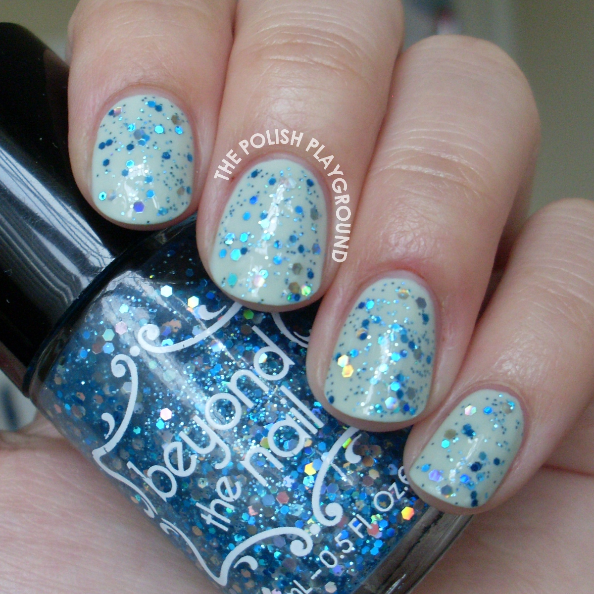 Beyond the Nail Shimmering Mermaid