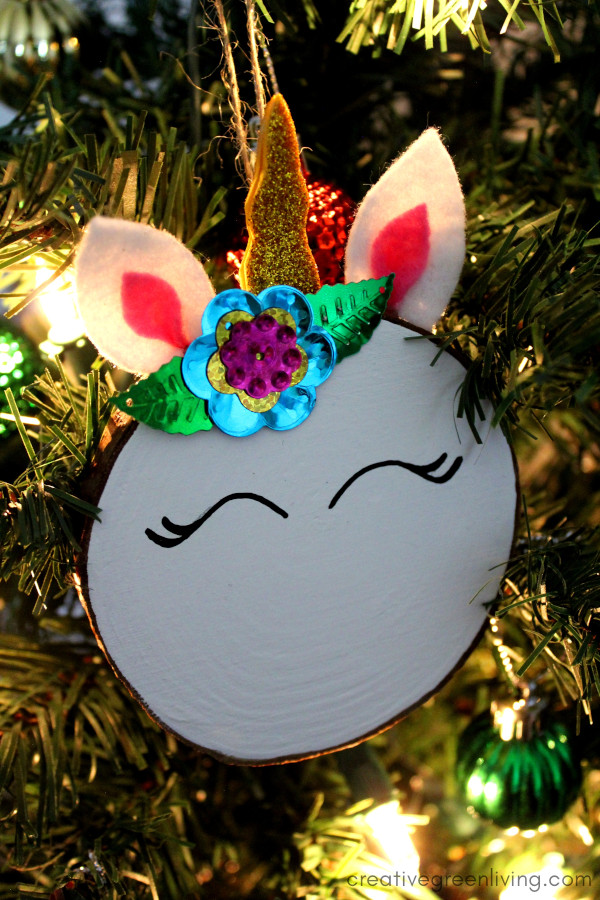 Unicorn DIY ornament