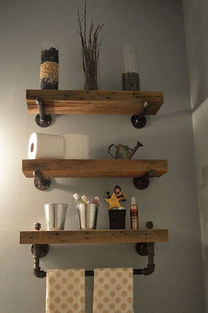 What A Great Ideas 60 Bathroom Pallet Projects On A