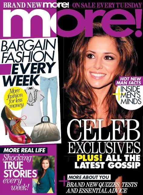 More Magazine November 2014 Issue: Beth's As Media