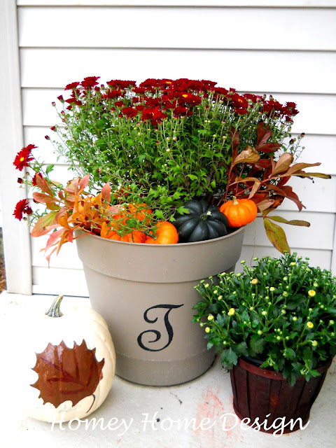 Homey Home Design Front Porch Fall Decor