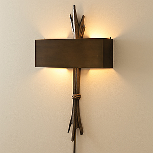 The Designer Insider: Rustic Bronze Wall Sconce