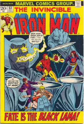 Iron Man #53, Raga