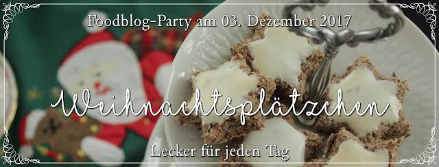 Foodblog-Party: Weihnachtsplätzchen